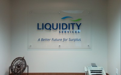 Liquididty Services -  Wall Sign