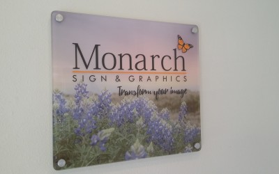 Monarch Sign & Graphics - Champions - Lobby Sign
