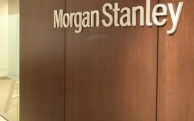 Morgan Stanley - Houston Galleria - Entry Sign