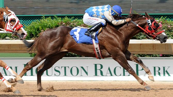HOUSTON, TX – Neon Sign Repair for the Horse Track Sam Houston Race Park