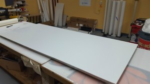 2-Sign Panel Ready for Decoration