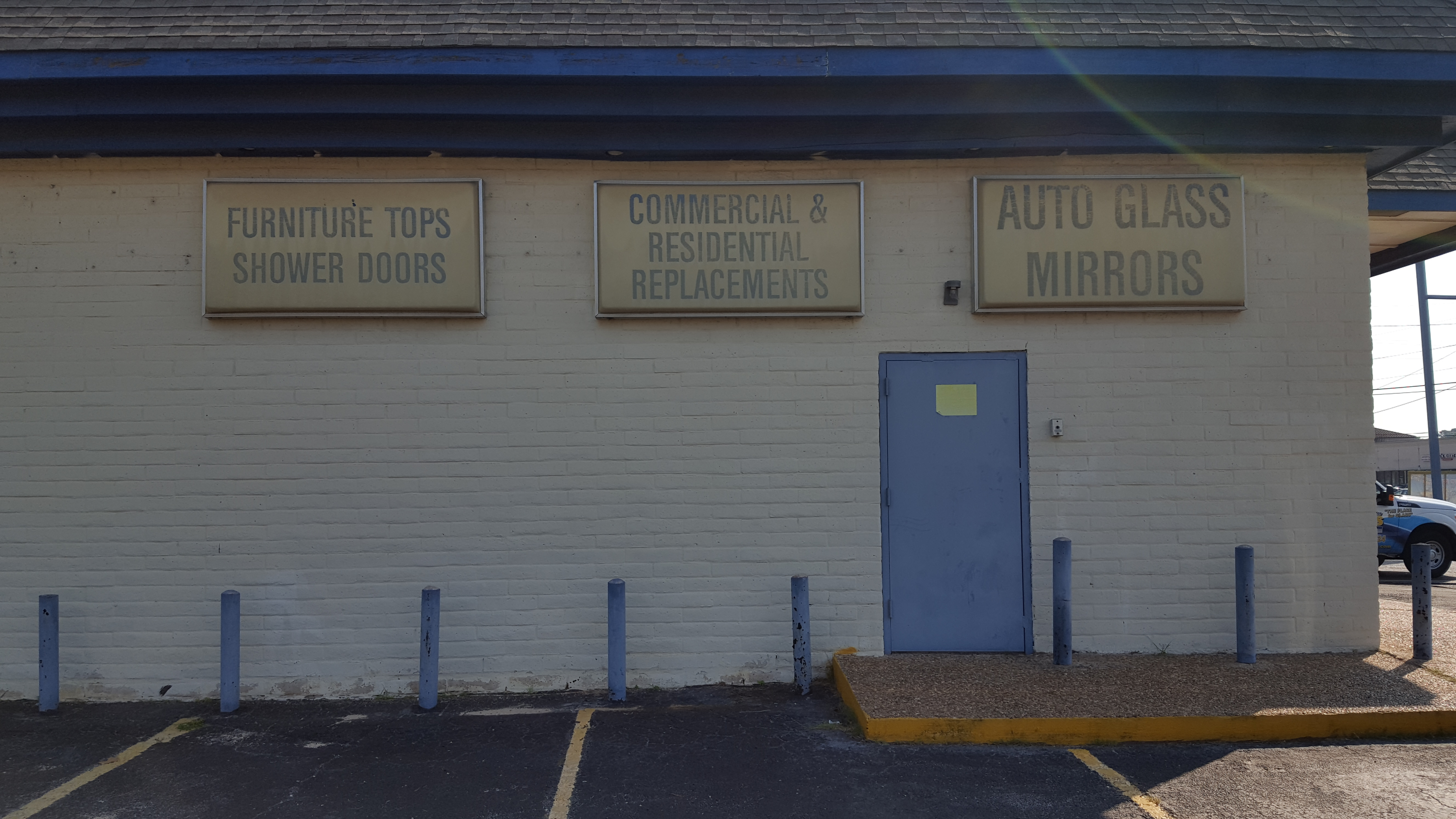 Binswanger Glass Shines with Building Sign Updates and Cabinet ...