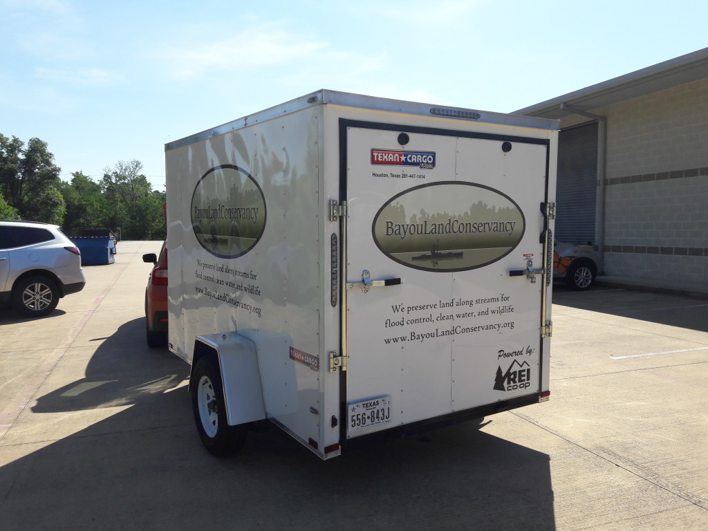 Graphics Installed To Trailer