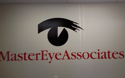 Master Eye Associates - Willowbrook - Reception Sign