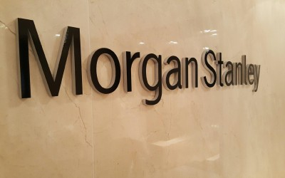 Morgan Stanley - Houston Galleria Recption Sign
