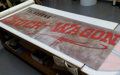 Chuck Wagon Food Truck Banner