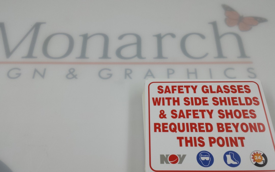 Custom Safety Signs Designed, Fabricated, and Installed in Houston, Texas