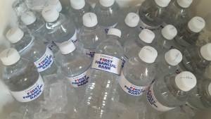 Water Bottles In Cooler
