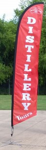 Whitmeyers Distillery Advertising Banner Flags