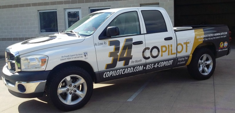 TOMBALL, TX - Custom Business Truck Wrap for Vehicle ...