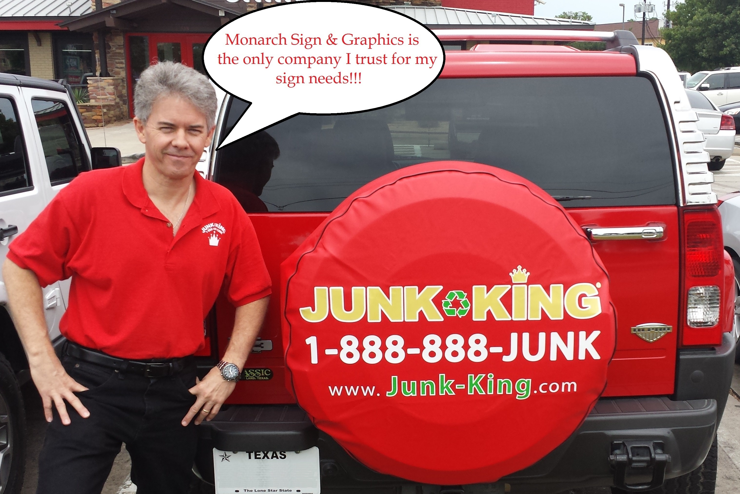 Houston Tx Custom Vehicle Magnets For Junk Removal