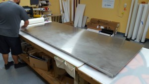 1-The Blank Aluminum Panel