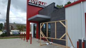Building the sign frame