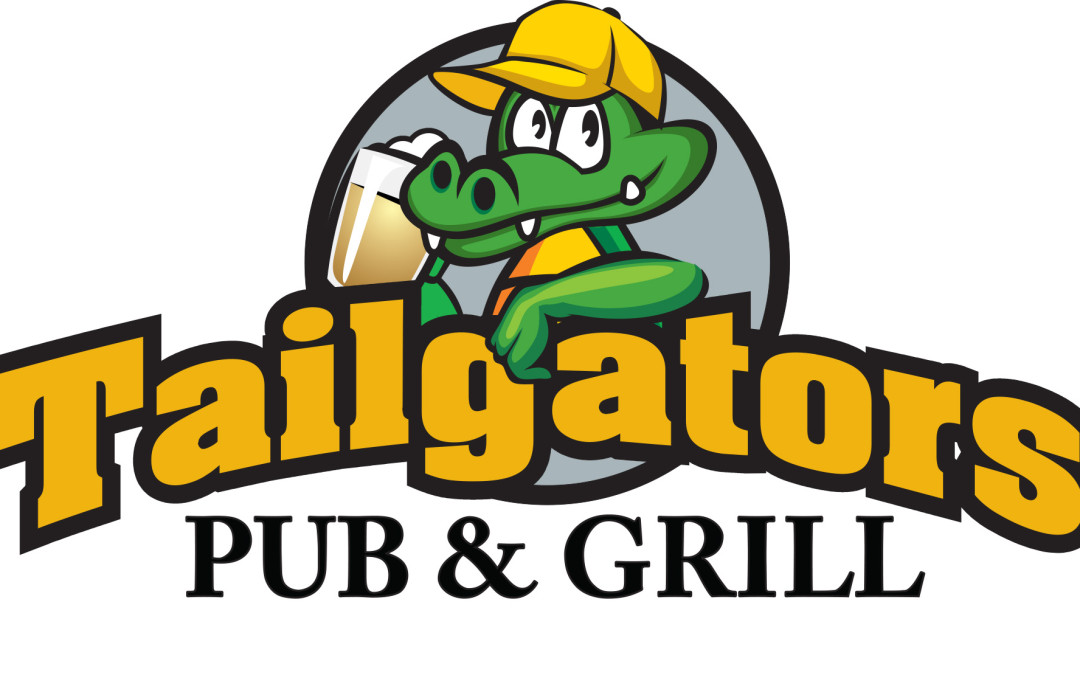 MAGNOLIA TEXAS – Custom Window Graphics for Local Restaurant Tailgators Pub & Grill