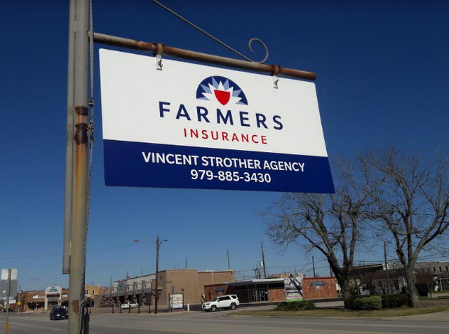 Signs and Graphics for Insurance Companies in Sealy TX