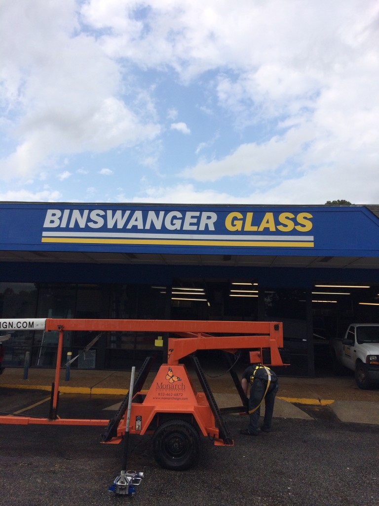 Building Sign Restoration in Houston TX