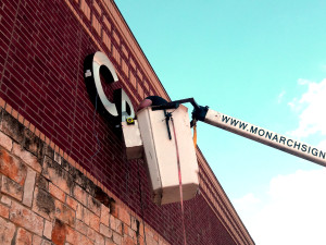 New Electric Sign Installations